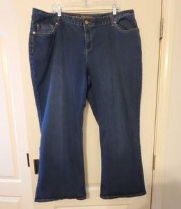 Cato Size 24W Petite Wide leg jeans